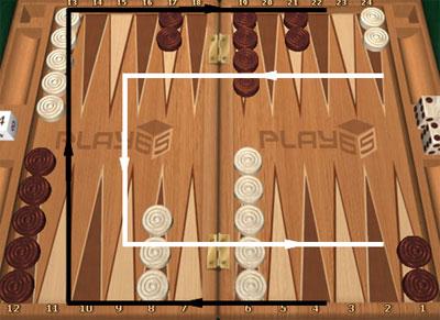 backgammon длинные нарды online: